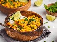 Рецепта Къри с нахут и картофи